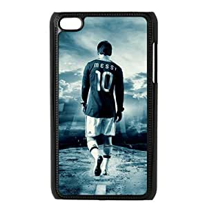 Josephine Licensed Football Series Lionel Messi Hard Plastic Case for IPod Touch 4