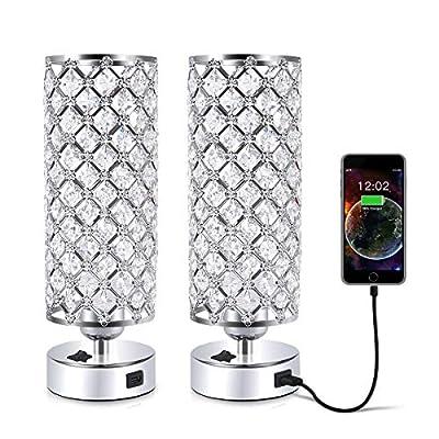 USB Crystal Table Lamp