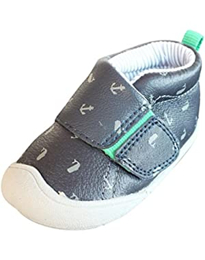 Baby Boys' Andy P Leather Upper Stage 1