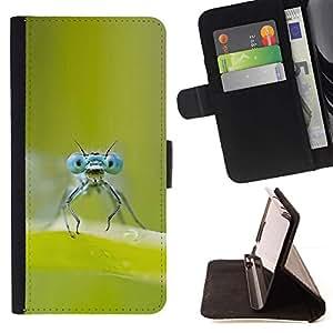 Momo Phone Case / Flip Funda de Cuero Case Cover - FALLOS OJOS - Sony Xperia M4 Aqua