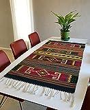 Zapotec rug, handwoven from Oaxaca, Mexico