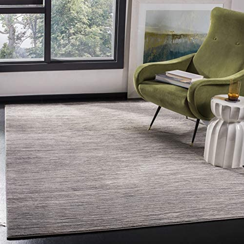 Safavieh Meadow Collection MDW342A Area Rug, 9 x 12 , Ivory Grey