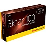 Kodak Professional Ektar Color Negative Film ISO 100, 120 Size, Propack of 5, *USA*