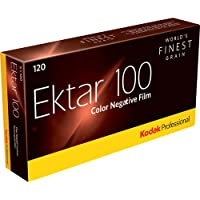 Kodak Professional Ektar 100 Color Negative Film (120 Roll Film, 5-Pack) - 8314098