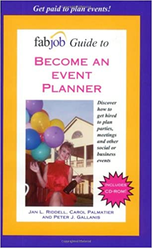 fabjob guide to become an event planner jan l riddell carol palmatier peter j gallanis amazoncom books