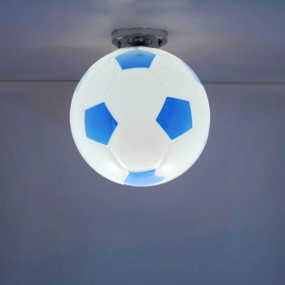 Lampara del Mesa F/útbol L/ámparas de Noche E27 Iluminacion Interion Luz de F/útbol para Habitacion del Ni/ño Dormitorio