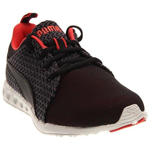PUMA Women's Carson Runner Knit Fashion Sneaker, Cayenne/Black, 9 B US