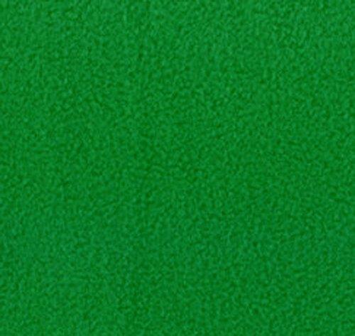4 Yard Bolt Anti Pill Kelly Green Fleece Polyester Fabric