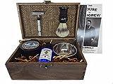 Vintage Shave Kit Groomsmen Gift Vintage Rustic Wedding (The Hunt) shave kit shaving kit for men unique mens gift shave unique groomsmen gifts
