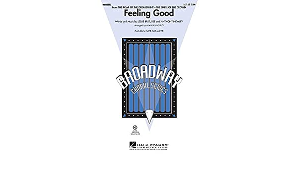 Hal Leonard Feeling Good From The Roar Of The Greasepaint Satb By