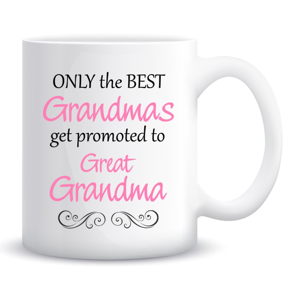 com only the best grandmas get promoted to great grandma com only the best grandmas get promoted to great grandma coffee mug kitchen dining