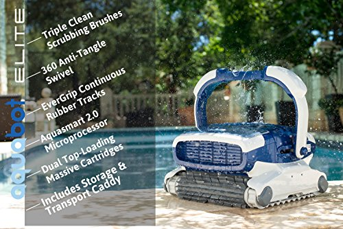 Aquabot Elite Inground Robotic Pool Cleaner 4 Reviews
