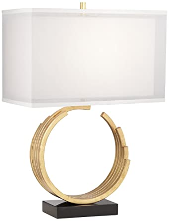 Riley gold leaf table lamp amazon riley gold leaf table lamp aloadofball Image collections