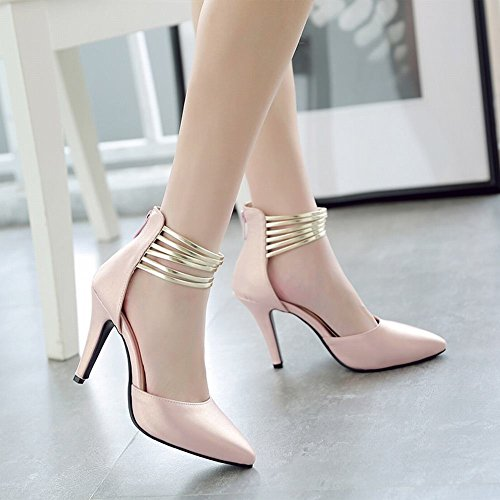 Charm Dorsay Scarpe Tacco Alto Con Tacco Alto E Cinturino Alla Caviglia Per Donna