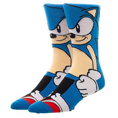 Sonic the Hedgehog Socks Sonic Gift - Sonic the Hedgehog Accessories Sonic Accessories - Sonic the Hedgehog Gift ()