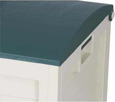 Cassettone in plastica Colore Verde//Beige Siena Garden Jumbo XXL