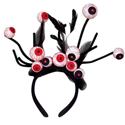 Halloween Costume Spider Eyes Headband Accessory (Spider Eyes Costume)