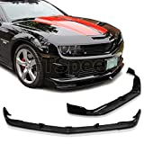 GT-Speed for 2010-2011 CHEVY CAMARO V8 ONLY SS STL Style PU Front Bumper Lip Chin Spoiler (Will not fit V6 Models)