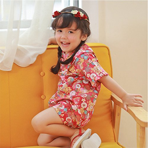 76dfe5d58da0 PAUBOLI Baby Japanese Kimono Robe Organic Cotton Infant Comfy Loose ...