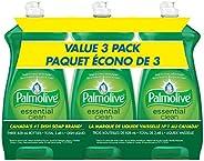 Palmolive Liquid Dish Soap, Essential Clean Original, 828 ml, 3 Count