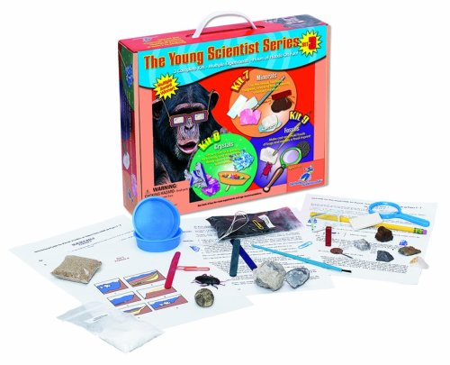 Young Scientist Series - Set 3: Minerals (Kit 7) - Crystal (Kit 8) - Fossils (Kit 9)