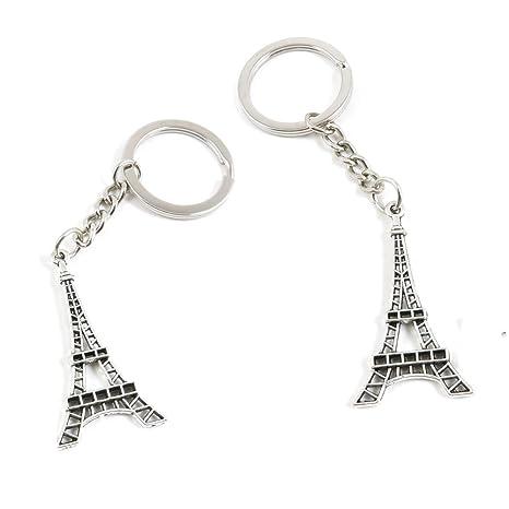 50 llaveros con diseño de Torre Eiffel de París, para hacer ...