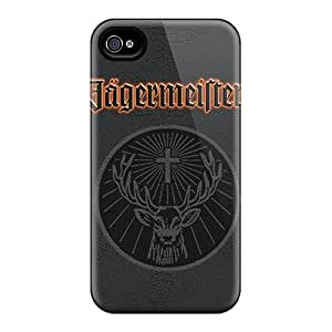 Bumper Hard Cell-phone Case For Iphone 4/4s (NvY14283dSiY) Allow Personal Design Nice Jaegermeister Iphone Pattern