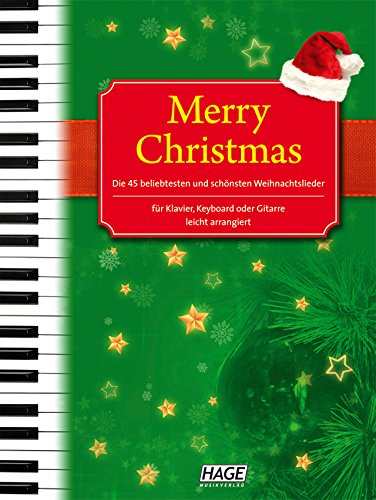 christmas kultsongs for keyboard songbook fur keyboard