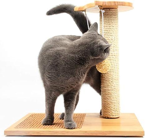 Poste Rascador de Gato - Mascota Jugando Escalada Diversión ...