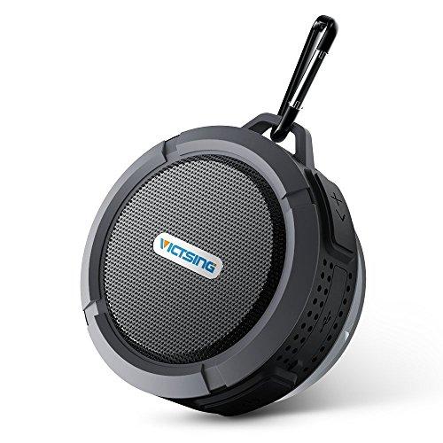 Wireless Shower Speaker, VicTsing Waterproof Outdoor Speaker with 5W...