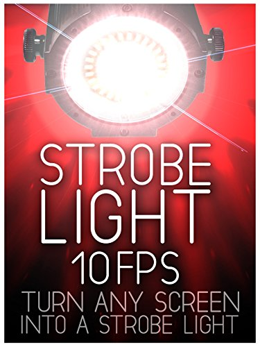[Strobe Light: 10 Flashes Per Second - Color White - 4 Hours] (Halloween 10)