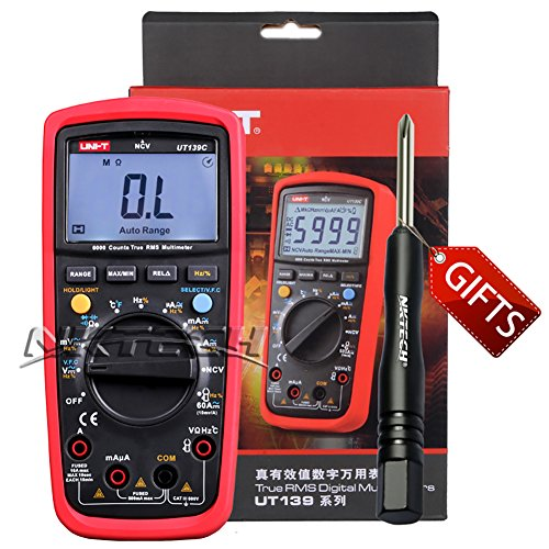 UNI-T UT139C True RMS Digital Multimeters - 5
