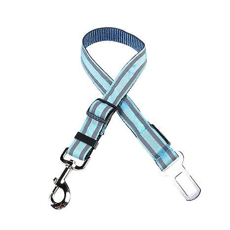 Wishdeal - Cinturón de Seguridad Reflectante para Perro con luz ...