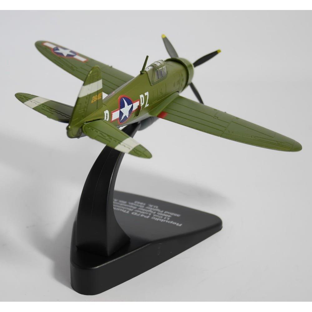 P47D Thunderbolt USAAF Europe Flugzeug 1943 Herpa 81AC063
