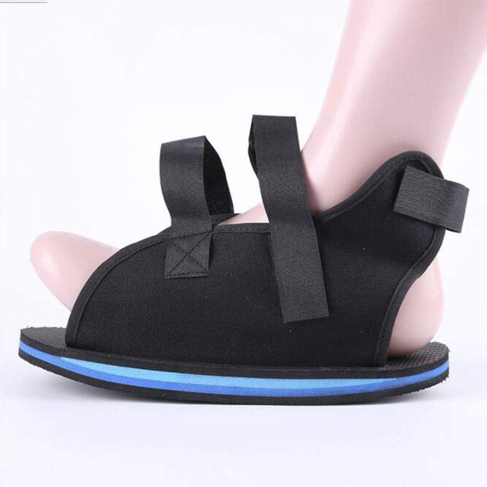SUPVOX Zapato postquirurgico para calzado quirúrgico para operación posquirúrgica operaciones de posicionamiento cirugía de dedos cirugía de pie (M)