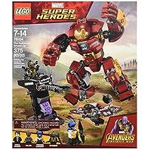 [Patrocinado] Superhéroes de Lego Lego Super Heroes conf Vengadores buena chavo 76104construcción y apilamiento Juguetes (375piezas)