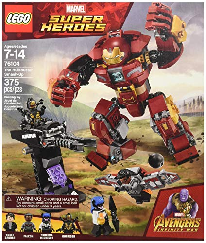 LEGO Marvel Super Heroes Avengers: Infinity War The Hulkbuster Smash-Up 76104 Building Kit (375 Piece) JungleDealsBlog.com