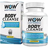 Wow Body Cleanse - Colon Cleanse & Detox Dietary Natural Weight Management  Supplement - 60 Veg Capsules (Pack of 1)