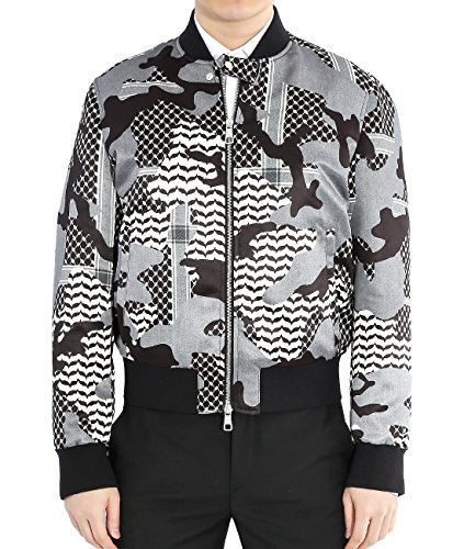 wiberlux-neil-barrett-mens-camouflage-zip-up-bomber-jacket-m-black