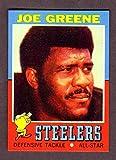 Joe Greene 1971 Topps Football ROOKIE Reprint Card (Steelers)