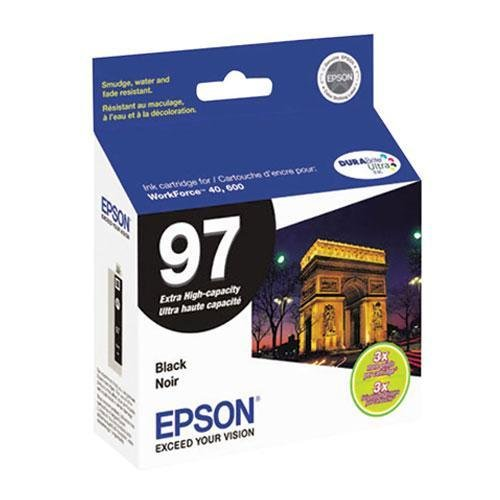 EPST097120D2 - Epson No. 97 Extra-High Capacity Black Ink Ca