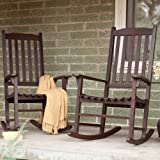 Best Coral Coast Chair Rockers - Pair Of Coral Coast Indoor/Outdoor Mission Slat Rocking Review