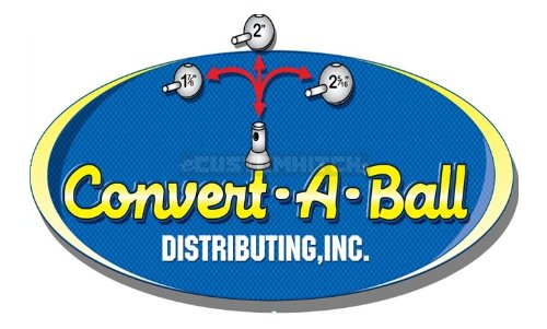 Convert-A-Ball 400 Chrome 2 Ball