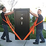 Home-Neat Forearm Forklift Lifting Straps Furniture Moving Belt for Lifting Bulky Items
