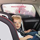 Shade Sox Universal Fit Baby Car Side Window Sun Shade with Travel E-Book (Pack of 2)