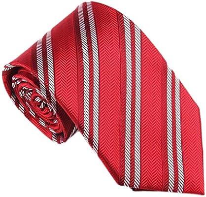 Xinxinchaoshi Corbatas Novia de Seda Lazo de los Hombres Corbata ...