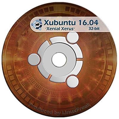 Xubuntu Linux 16.04 DVD - FAST Desktop Live DVD - Replace Windows - Official 32-bit Release