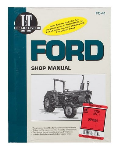 amazon com shop manual ford 2310 2600 2610 3600 3610 4100 4110 4600 rh amazon com Ford 6610 Tractor Specs ford 4500 tractor owners manual