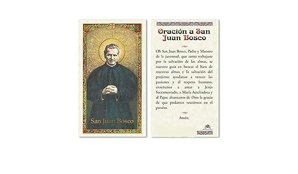 Amazon.com : San Juan Bosco Patron y Maestro de los Jovenes ...