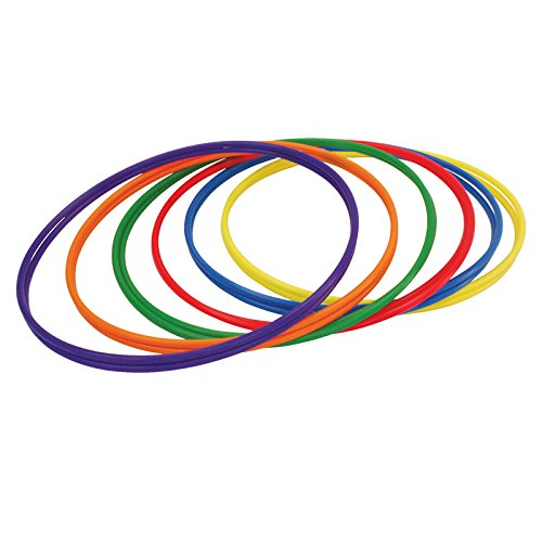 CHAMPION SPORTS CHSH3 PLASTIC HOOPS 30IN 12PK 2 EACH OF 6 by Champion Sports